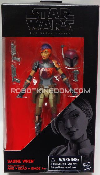 "Star Wars Rogue One - A Star Wars Story Black Series 6"" SABINE WREN. Available Now!"