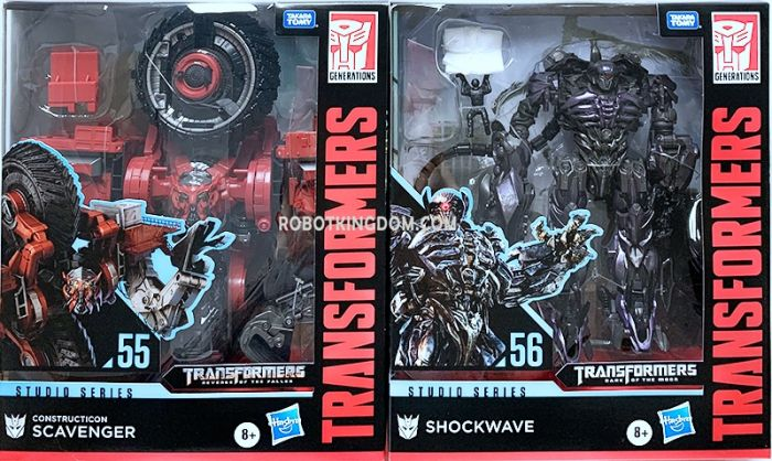 Hasbro Transformers Studio Series  LEADER Wave 4 set of 2 (SCAVENGER, SHOCKWAVE). Available Now!