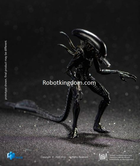 """Hiya Toys LA0110 Exquisite Mini Series: """"AVP"""" - Alien Warrior. Preorder. Available in 1st Quarter 2021."""