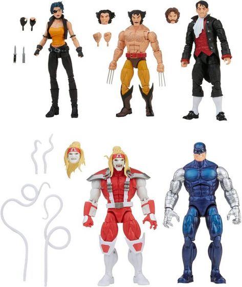 Exclusive Marvel Legends Wolverine 5-Pack (Wolverine, Marvel's Omega Red, Marvel's Cyber, Marvel's Callisto, Jason Wyngarde). Preorder. Start Shipping on 1st December 2021.