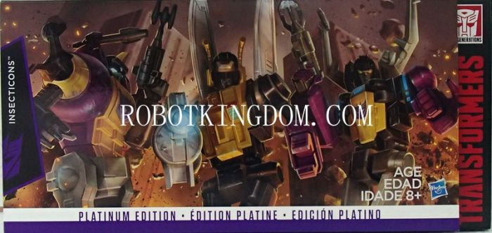 Hasbro Platinum Edition G1 Reissue Insecticons Box Set. Available Now!