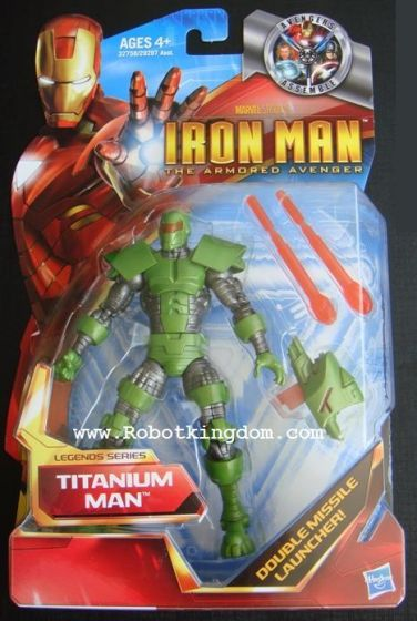 "Hasbro Movie Ironman The Armored Avenger - Titanium Man.  ""limited qty"""