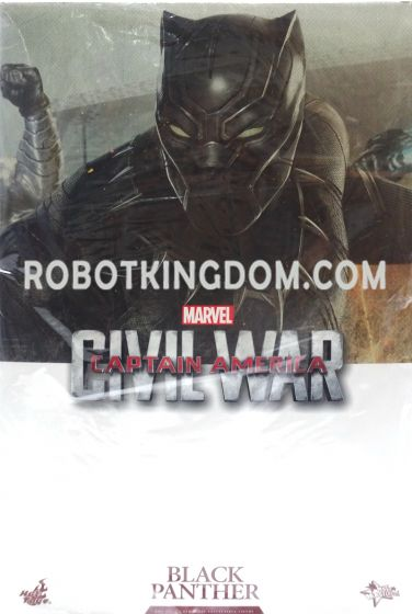 Hot Toys MMS363 Movie Masterpiece Captain America: Civil War Black Panther. Available Now!