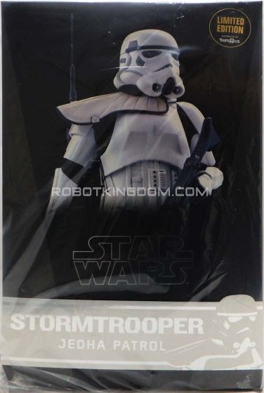 Hot Toys MMS386 TRU Exclusive Star Wars Rogue One 1/6 Storm Trooper (Jedha Patrol). Available Now!