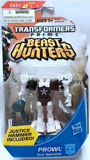Hasbro TF Prime Beast Hunters Cyberverse Legion Prowl. Available Now!