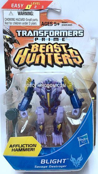 Hasbro TF Prime Beast Hunters Cyberverse Legion BLIGHT. Available Now!