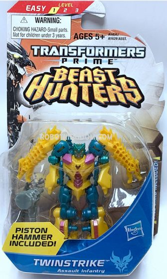 Hasbro TF Prime Beast Hunters Cyberverse Legion Twinstrike. Available Now!