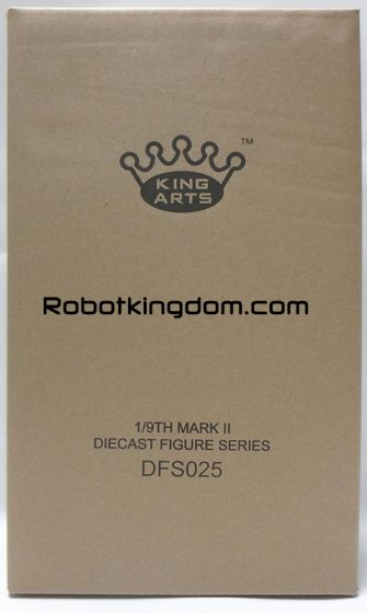 King Arts - 1/9 Diecast Figure Series - DFS025- Iron Man Mark 2. Available Now!