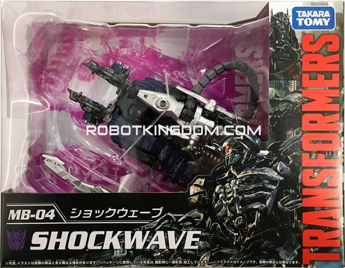 Takara Transformers Movie 10th Anniversary Reissues MB-04 – Shockwave. Available Now!