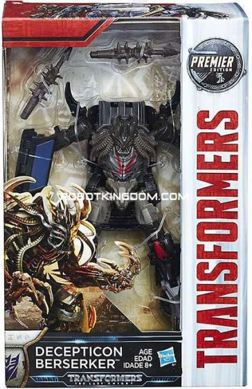 Transformers Movie 5 - The Last Knight Premier Deluxe Decepticon Berserker. Available Now!