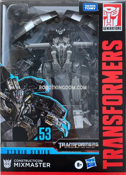 Transformers Generations STUDIO SERIES VOYAGER MIXMASTER. Available Now!