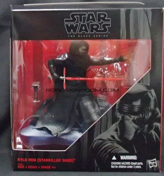 """Star Wars the Force Awakens Kmart Exclusive Black Series 6""""Kylo Ren Snow Deco.  Available Now!"""