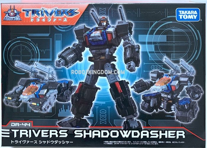 Takaratomy Mall Exclusive Diaclone DA-44 DIACLONE TRYVERSE SHADOW DASHER. Available Now!