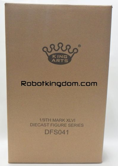 King Arts - 1/9 Diecast Figure Series -DFS041- Iron Man Mark 46. Available Now!
