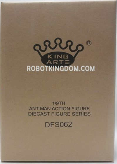 King Arts - 1/9 Diecast Figure Series -DFS062- Ant Man. Available Now!