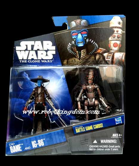 Hasbro Star Wars 2010 Exclusive Two-Pack - Cad Bane & IG-86.