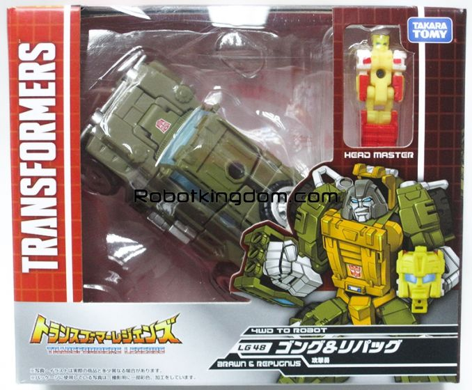 Transformers Legends LG-48 Gong & Repugnus. Available Now!