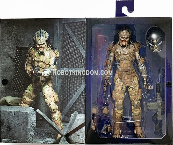 """NECA Predator (2018) - 7"""" Scale Action Figure - Emissary 2 Concept Figure. Available Now!"""
