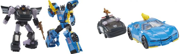 Transformers Generations War for Cybertron GALACTIC BARRICADE & COUNTER.