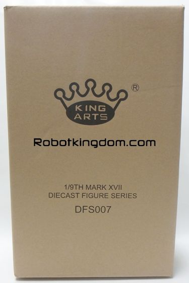 King Arts - 1/9 Diecast Figure Series - DFS007- Iron Man Mark 17. Available Now!