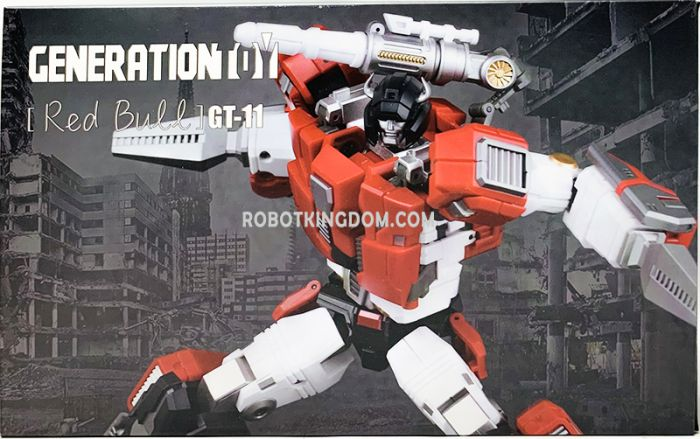 Generation Toy GT-11 T-Beast RED BULL. Available Now!