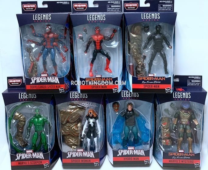 Marvel Legends Infinite Series Spiderman Wave 2 Case of 8. Preorder. Start Shipping on 01st June 2019.