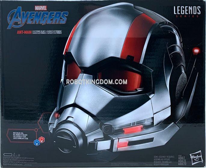Hasbro Avengers LEGENDS GEAR ANTMAN Helmet. Available Now!