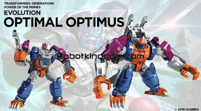 Generations 2018 Power of the Prime LEADER Wave 3 Optimus Primal.