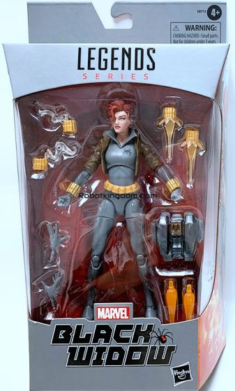 "Marvel Legends 6"" Black Widow (Grey). Available Now!"