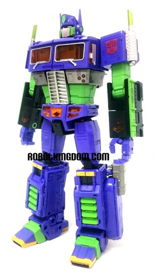 Evangelion MP-10 Masterpiece Convoy / Optimus Prime with Trailer. Box open for checking.