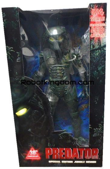 "NECA Predator - 20"" Scale Action Figure - 30th Anniversary Figure Jungle Demon. Available Now!"