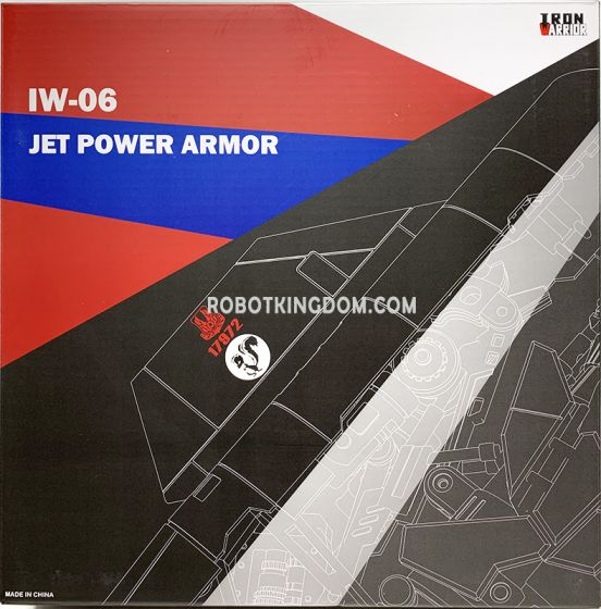 Iron Warrior IW-06 Jet Power Armor for MPM04 Optimus Prime. Preorder. Restock in 3rd Quarter 2020.
