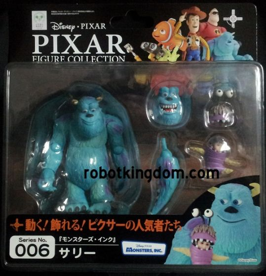 Kaiyodo Revoltech Pixar figure collection 006 Monsters Inc Sulley.