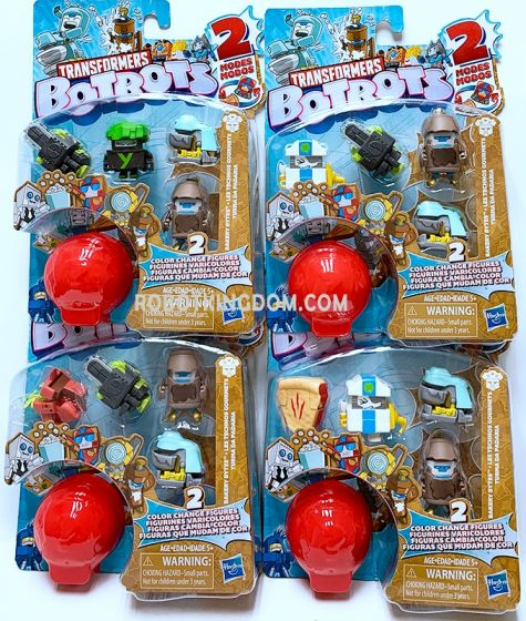 Transformers Bot Bots 5 Pack Set of 4. Available Now!