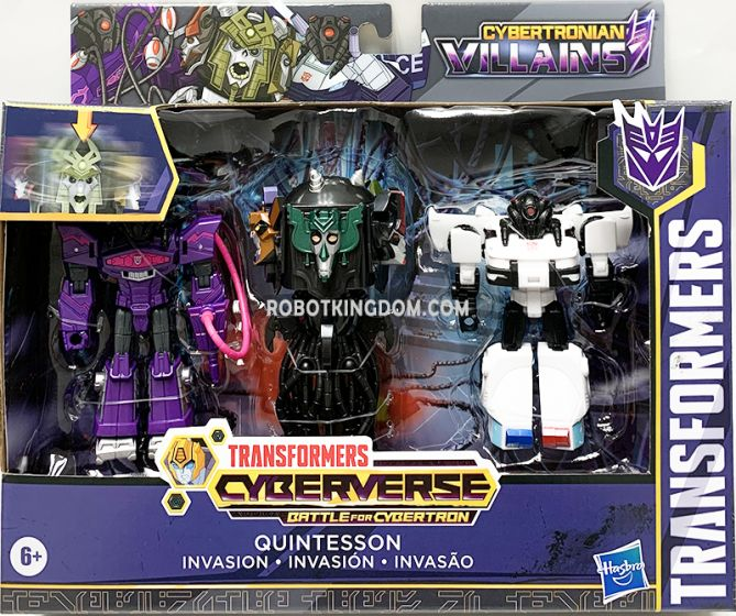 Hasbro Transformers Cyberverse Quintesson Invasion. Available Now!