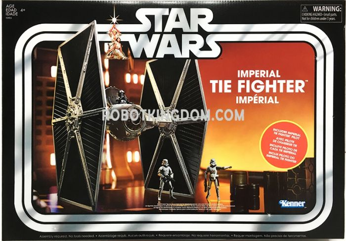 Exclusive Star Wars VIN VINTAGE TIE FIGHTER LWING. Available Now!