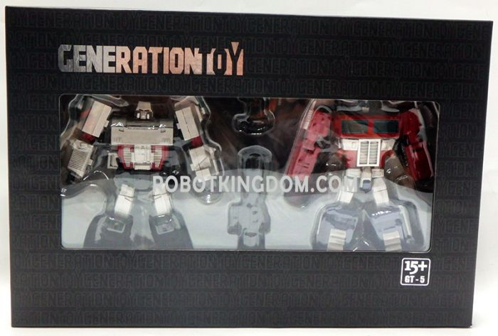Generation Toy Gravity Builder: GT-05. Available Now!
