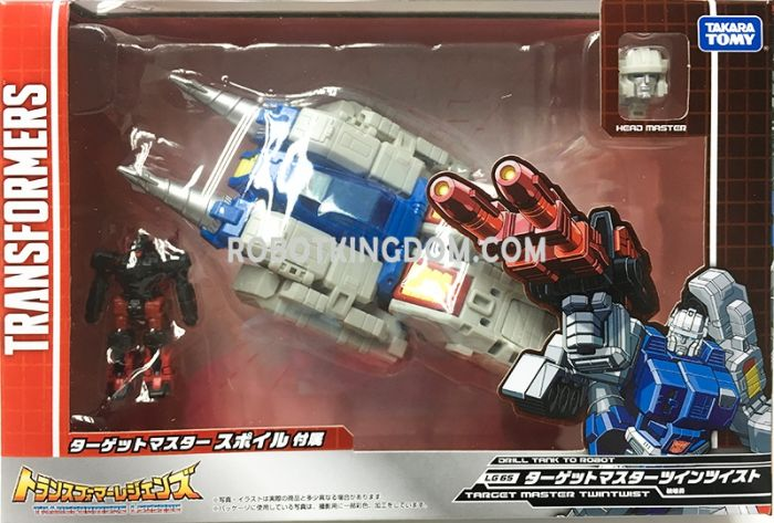 Transformers Legends LG-65 TARGET MASTER TWIN TWISTER. Available Now!