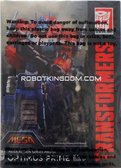 Toys Alliance - Mega Action Series MAS-01 - Optimus Prime. Warehouse Found!
