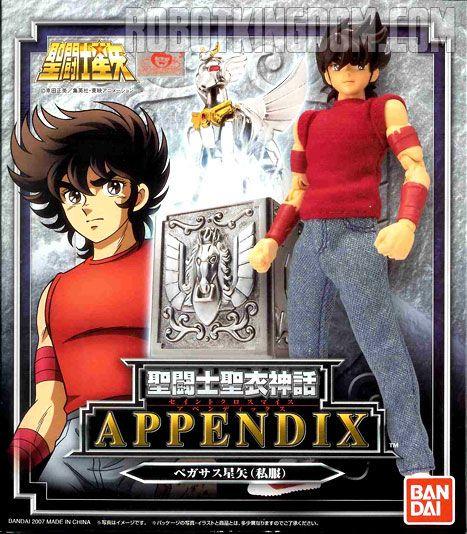 2007 BANDAI Saint Seiya Cloth Myth Appendix Bronze Saint Pegasus Anime figure