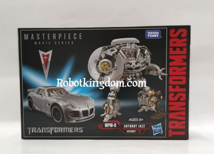 Hasbro/Takara Transformer Movie Masterpiece Series MPM-9 Jazz. Available Now!