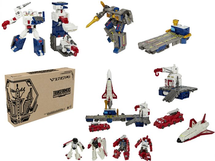 Exclusive Transformers Generations War for Cybertron Galactic Odyssey Collection Botropolis Rescue Mission 6-Pack. Preorder. Start shipping on 1st February 2021.