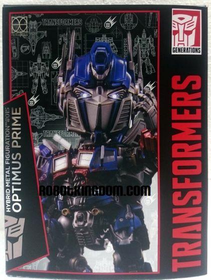 86Hero Herocross - Hybrid Metal Figuration Transformers Optimus Prime.