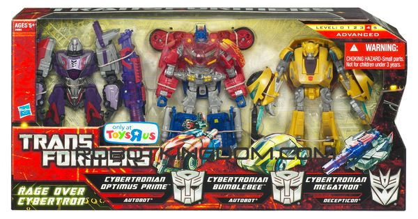 Hasbro Transformers Rage Over Cybertron 3 Pack. Available Now!