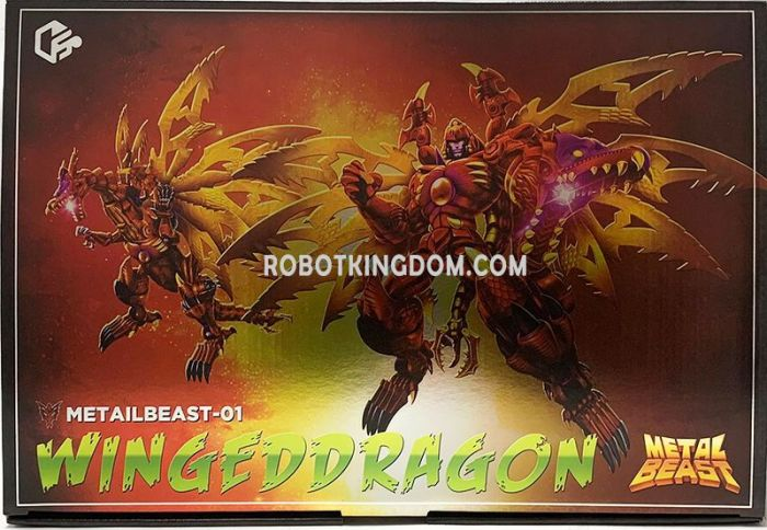 Jiangxing JX-MetalBeast-01 Winged Dragon. Available Now!