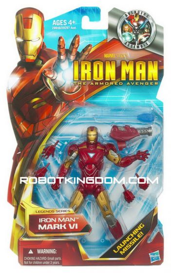 Hasbro Movie Ironman The Armored Avenger - Iron Man Mark VI.