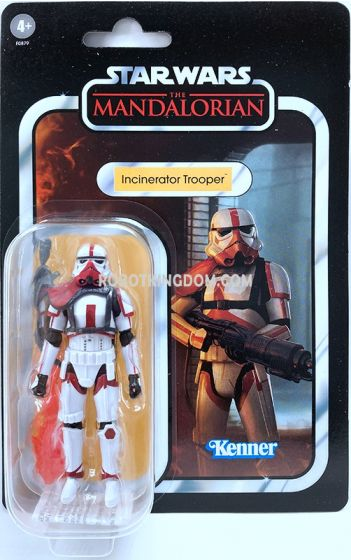 """Exclusives Star Wars Vintage Collection 3.75"""" Incinerator Trooper. Available Now!"""