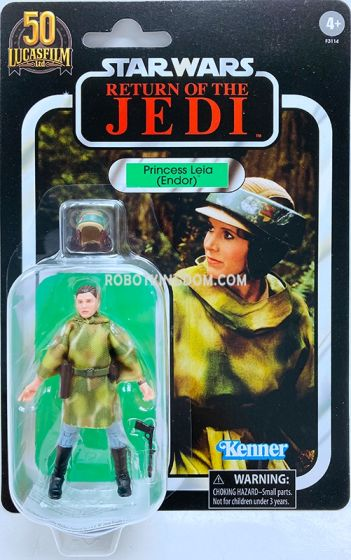 "STAR WARS The Vintage Collection Lucasfilm 50th Anniversary 3.75"" Princess Leia (Endor). Available Now!"