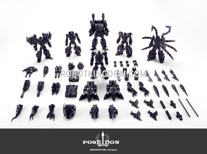TFC TOYS P01-06B Poseidon Unavtivate ver. giftset(Limited to 100pcs worldwide). Available Now!