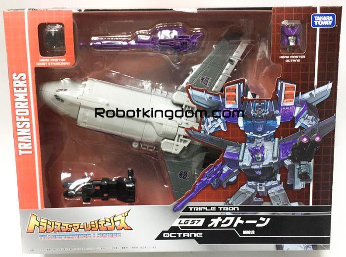 Takara Transformers Legends LG-57 OCTANE. Available Now!